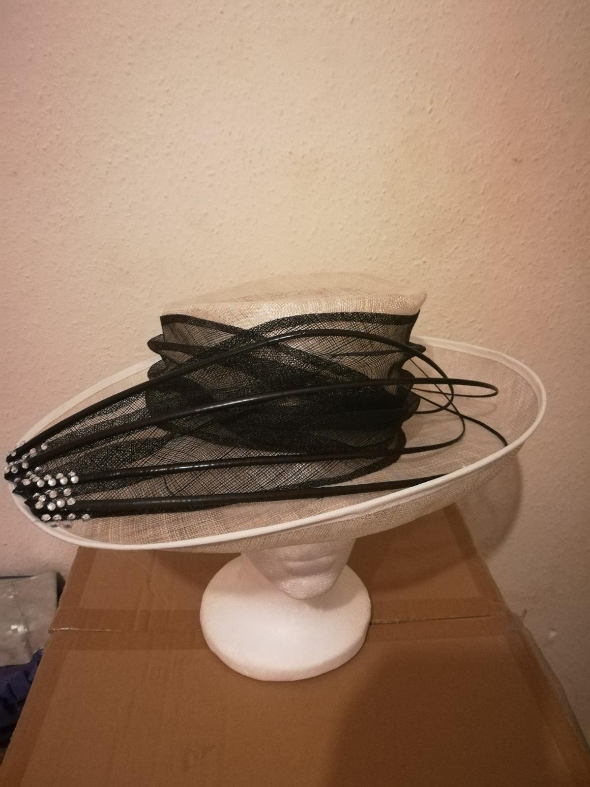 a7b8ecda0f34b occasion hats in black and ivory in RG2 Reading for £40.00 for sale ...