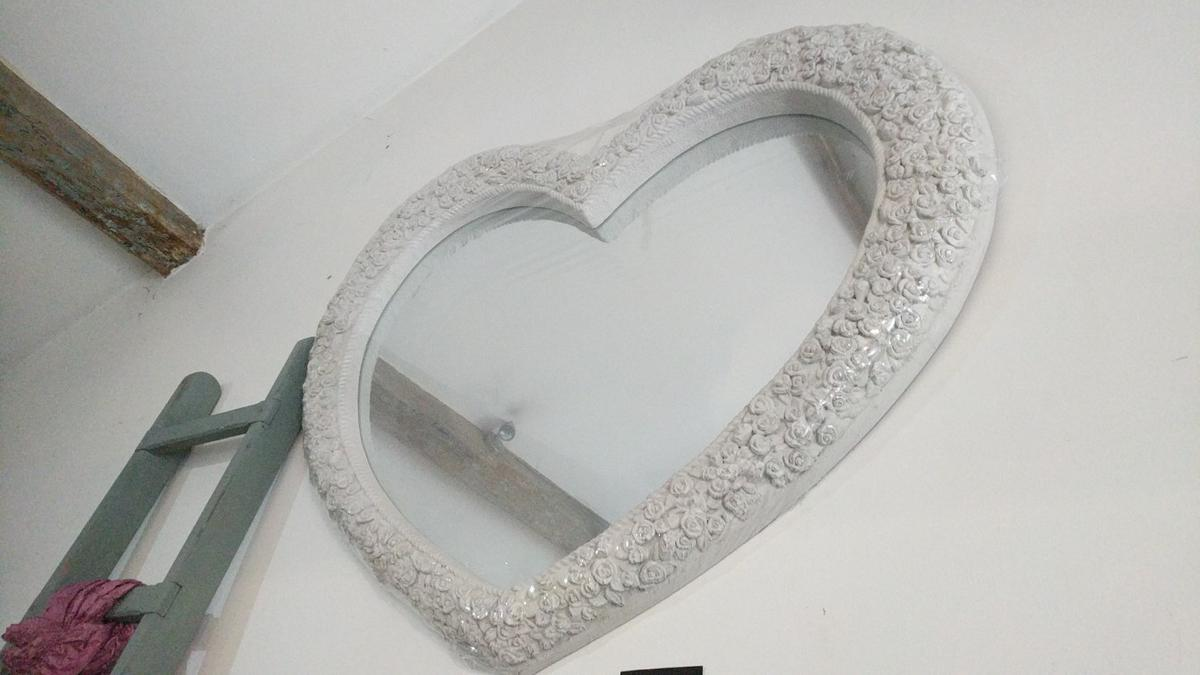 Heart Shaped Large Mirror In Hx6 Calderdale For 100 00 For Sale Shpock