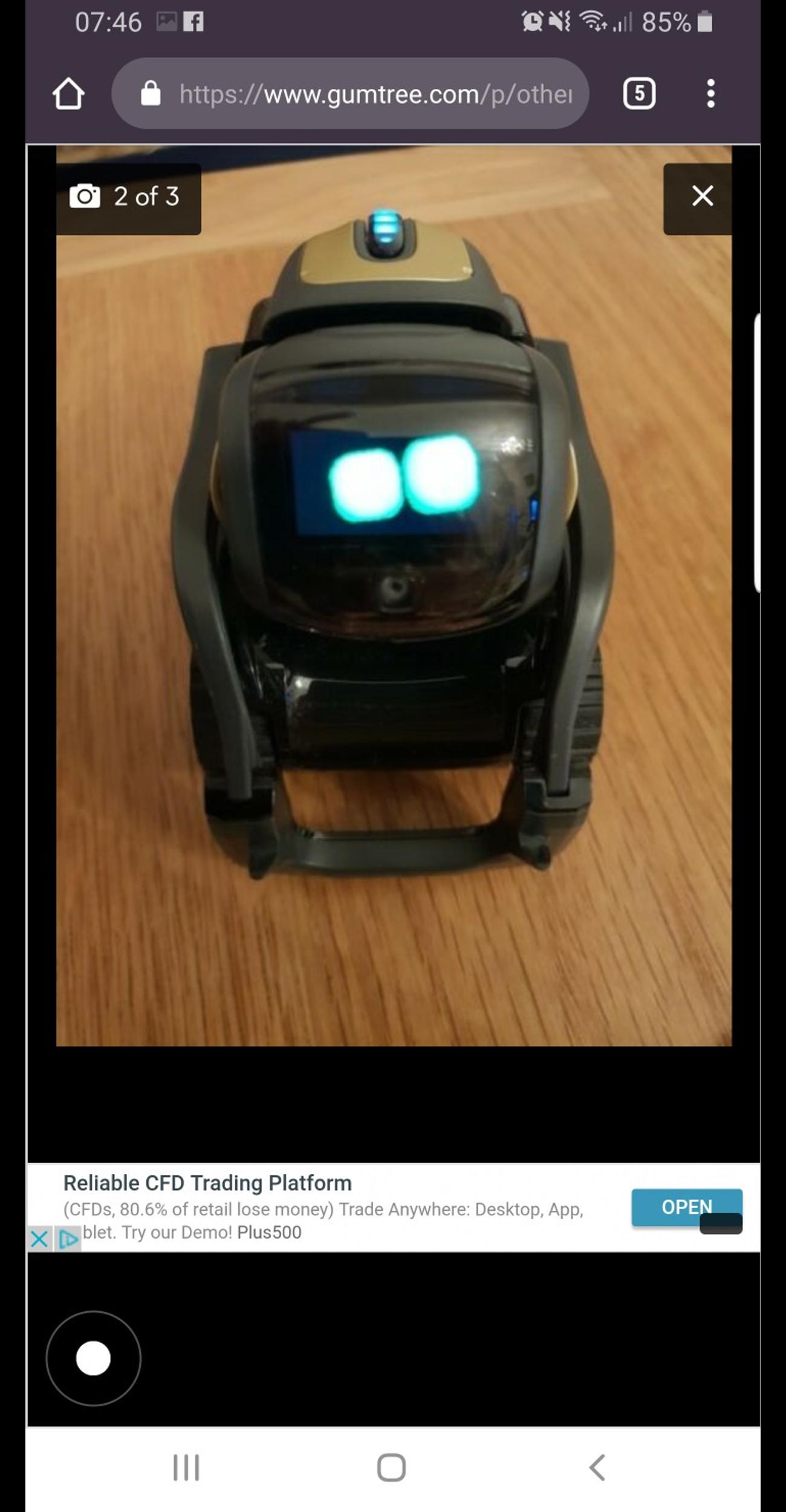 Anki Vector Smart Robot in SS7 Point for £130 00 for sale