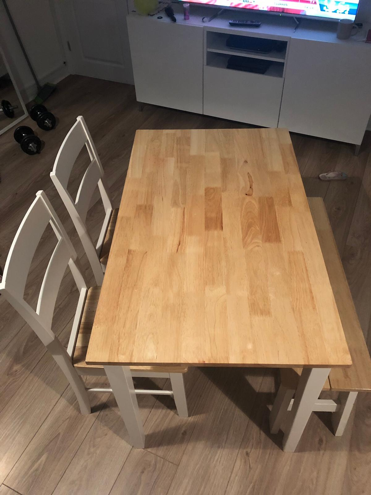 Argos Chicago dining table bench and 9 chairs in Hoo St Werburgh ...