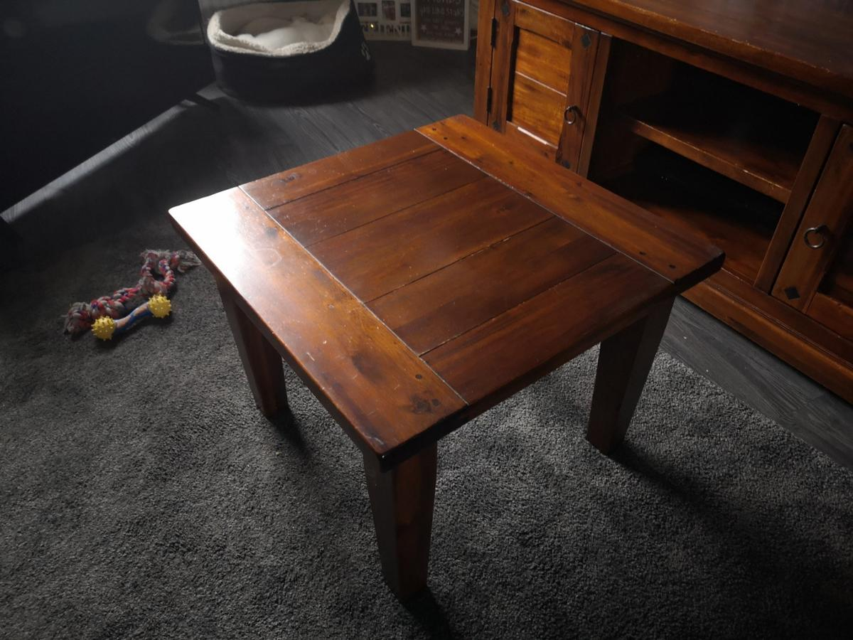 Solid Wood Tv Stand And Side Table In Ol9 Oldham For 25000