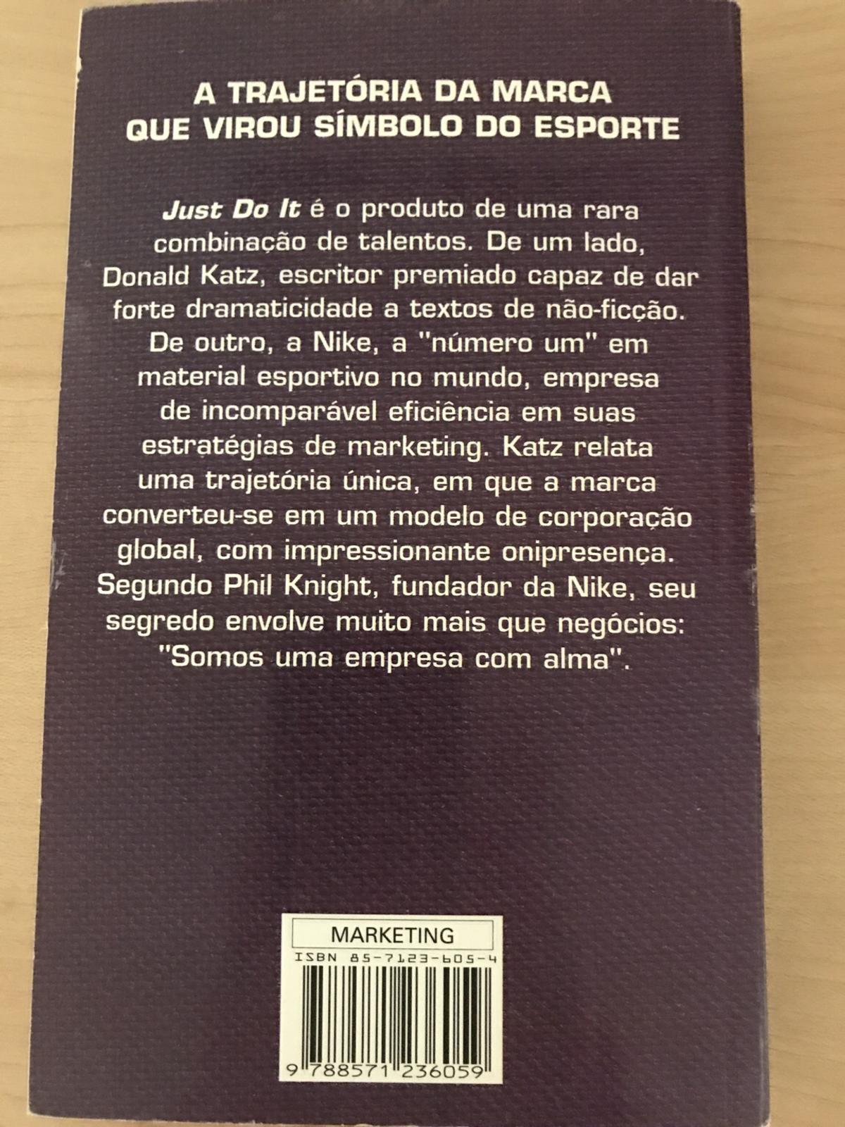 "Buch ""Just Do It"" auf Portugiesisch"