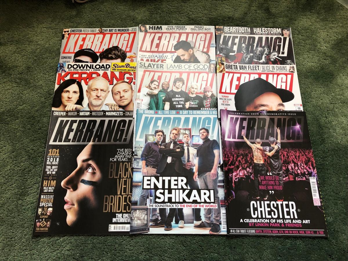 Kerrang rock sound nme magazines in Swindon for £30 00 for sale - Shpock