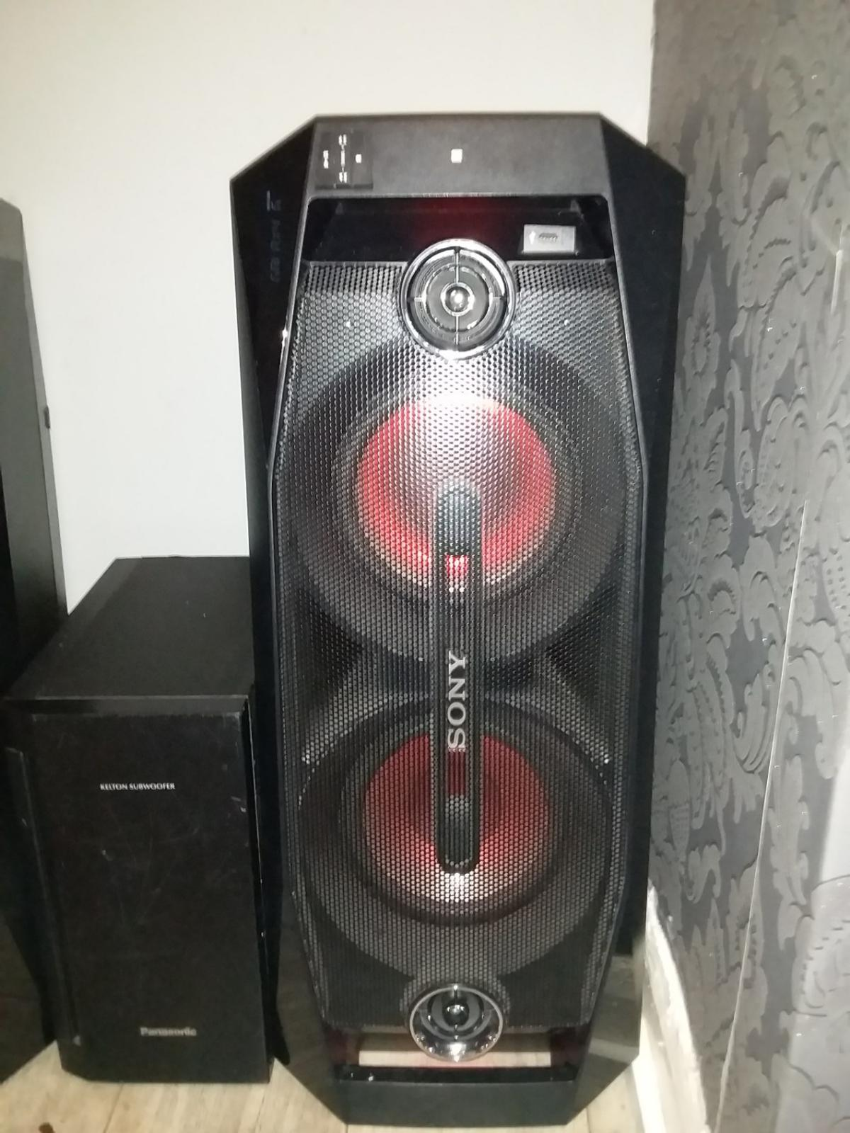 2 sony gtk x1bt speakers in M14 Manchester for £300.00 for