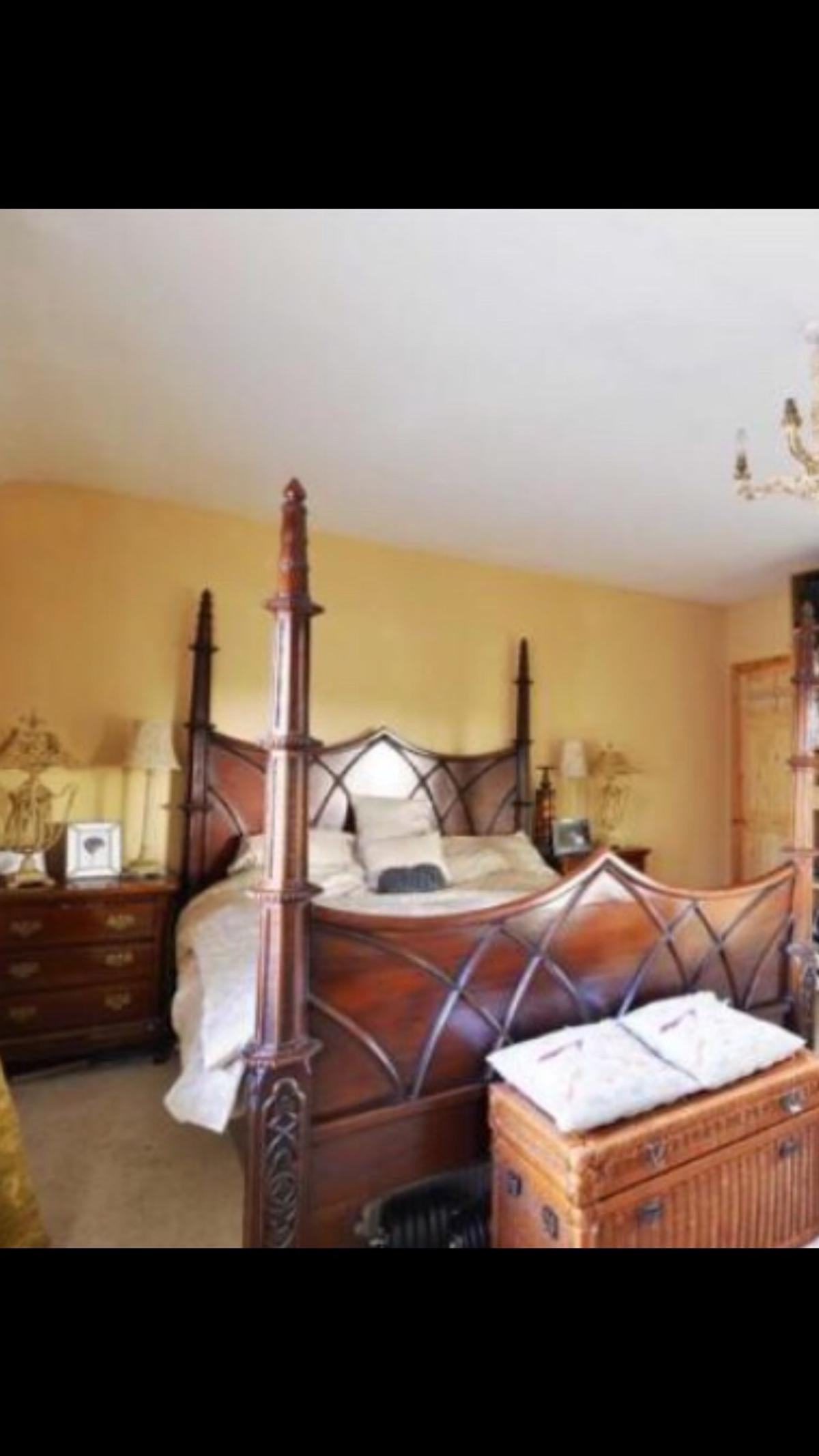 Picture of: Gothic Bed In Wigan For 500 00 For Sale Shpock