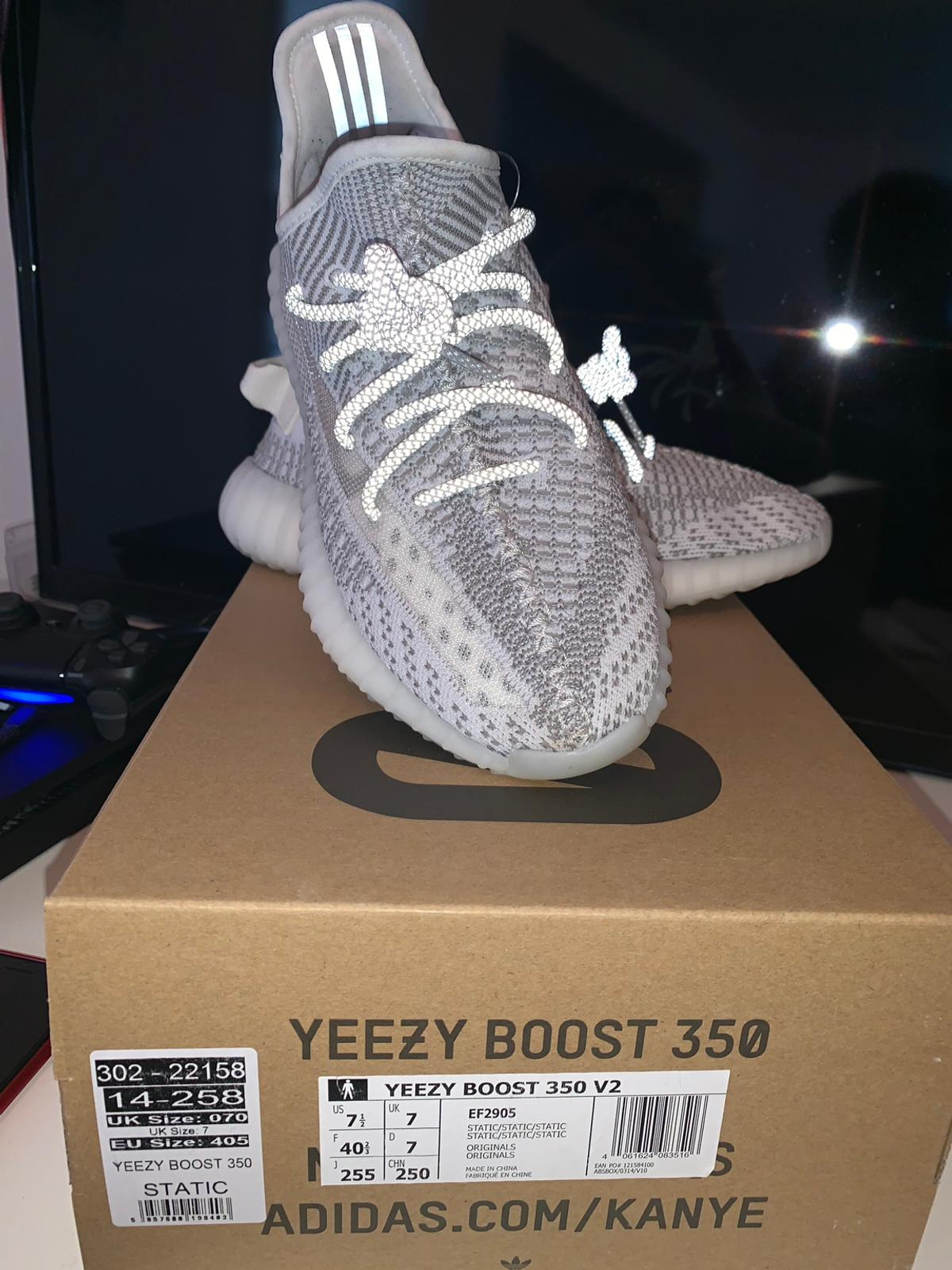 adidas Yeezy Boost 350 V2 Static (Non Reflective) EF2905