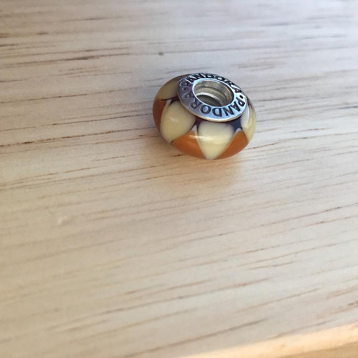Pandora Murano Glass Two Tone Charm In Sy1 Shrewsbury For 12 00 For Sale Shpock