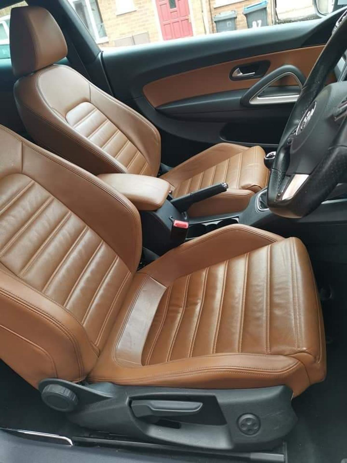 Vw Scirocco With Tan Leather Interior In Le9 Bosworth For
