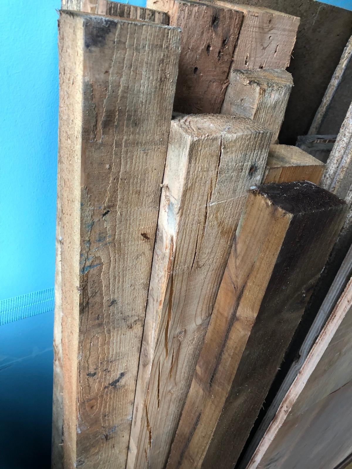 3x2 Reclaimed Wood Timber Posts Fence