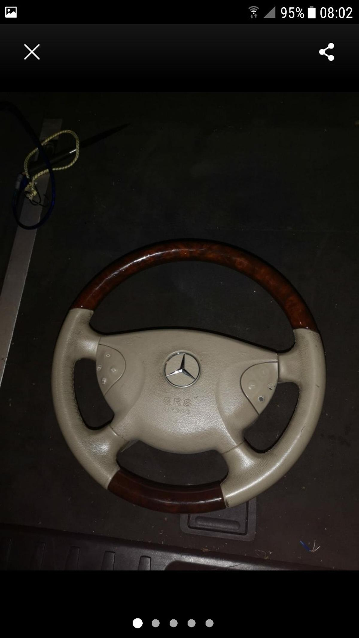 Mercedes W211 Steering Wheel In Madeley For 60 00 For Sale Shpock