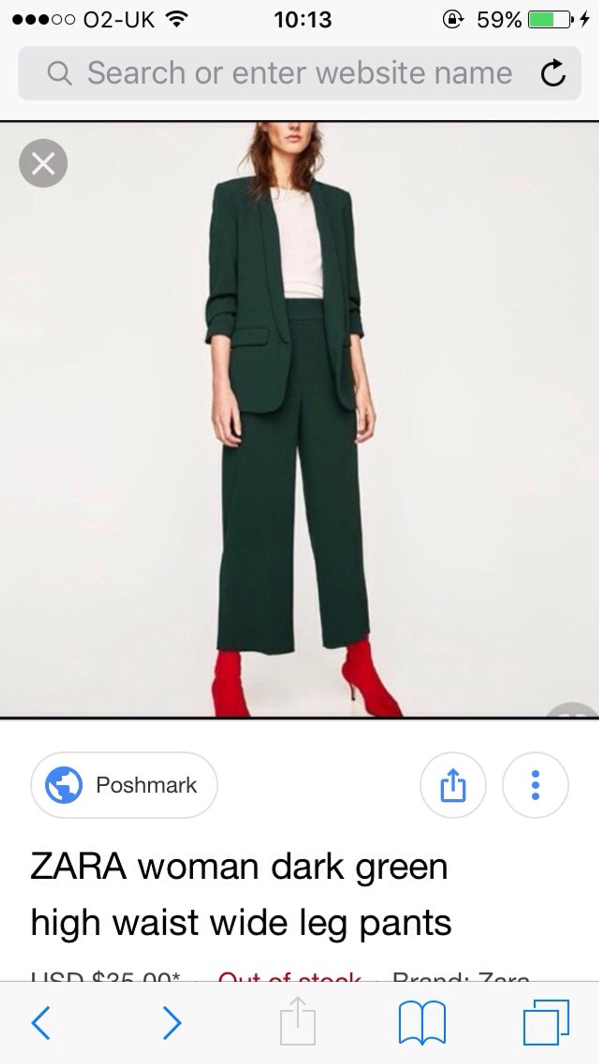 factory outlet noveldesign discount coupon Zara Wide leg trousers 10