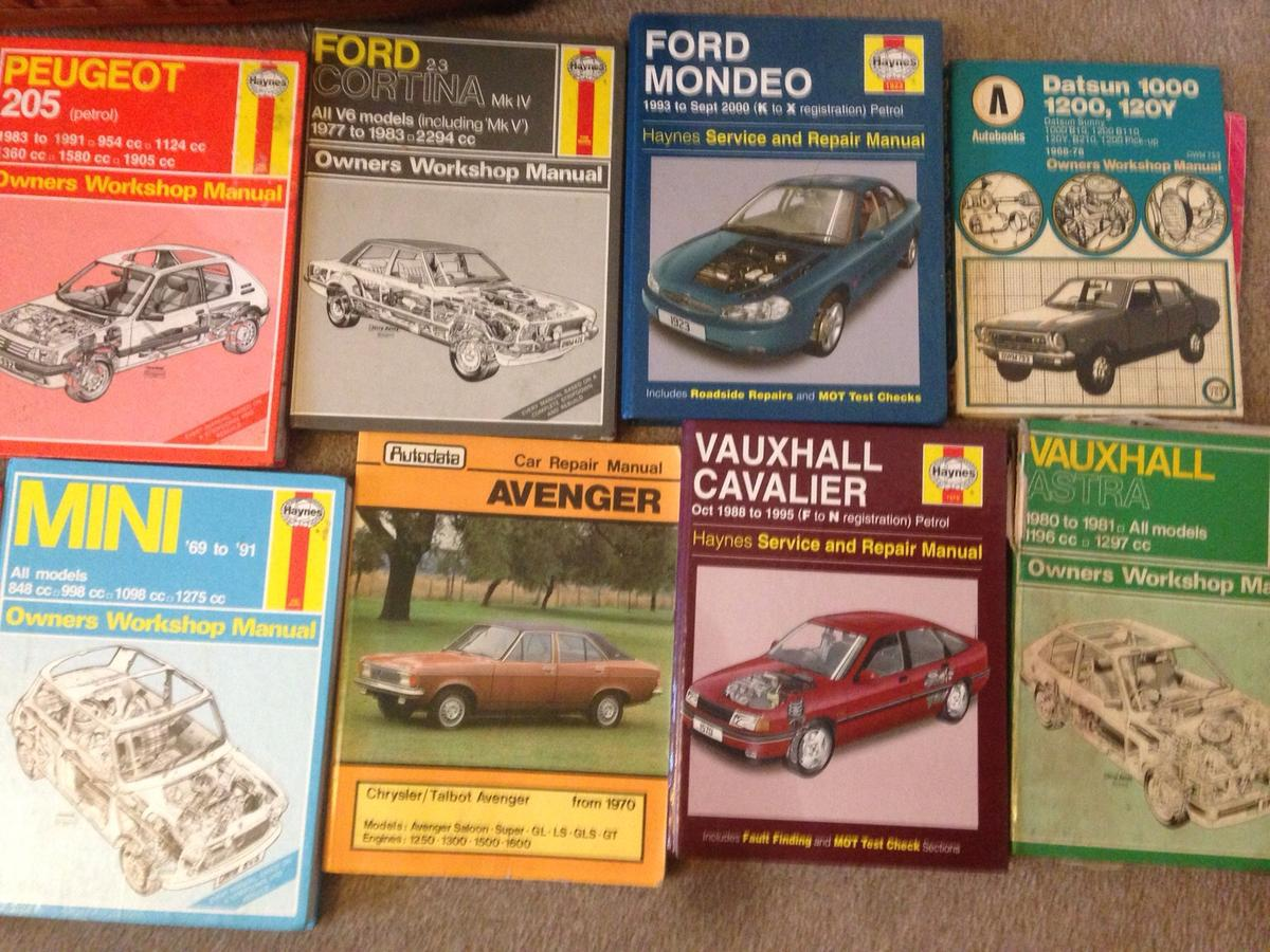 Haynes owners workshop manual x 50 in BL2 Bolton for £100 00