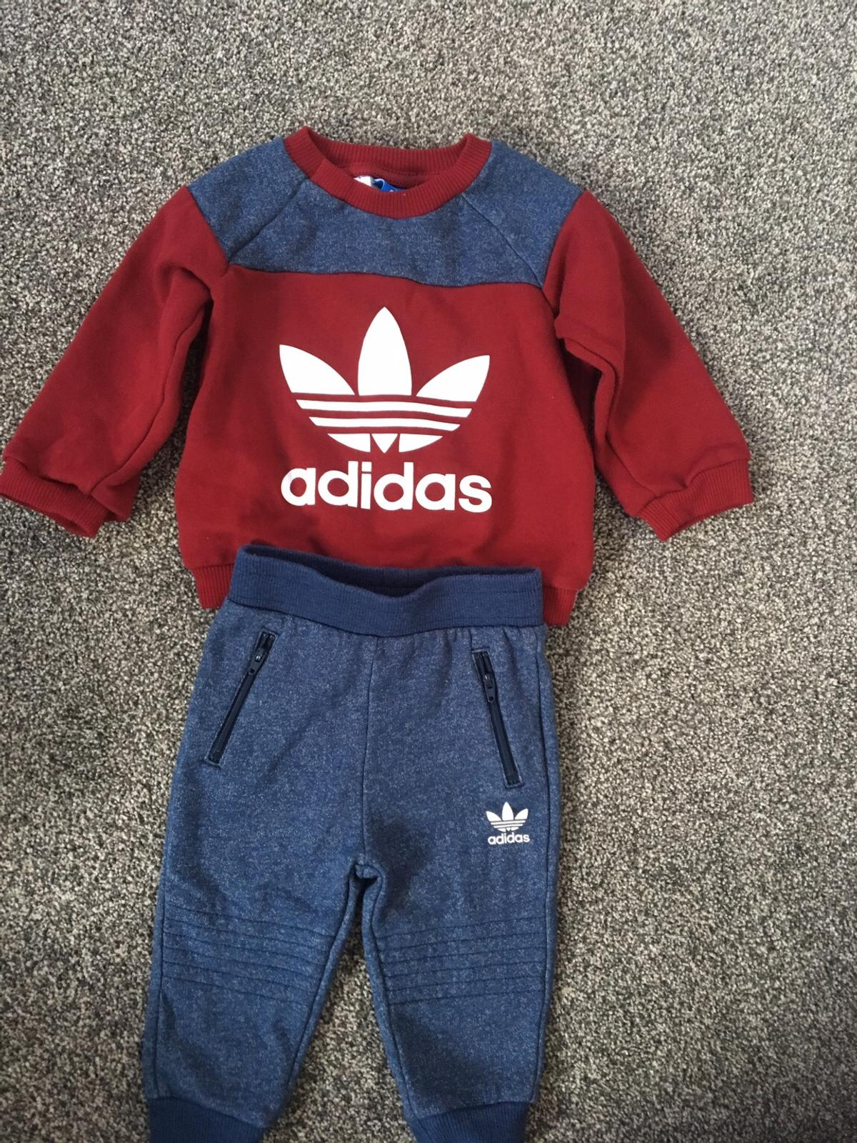 8ae293010f24 Baby boy adidas tracksuit 6-9months in B30 Birmingham for £10.00 for ...