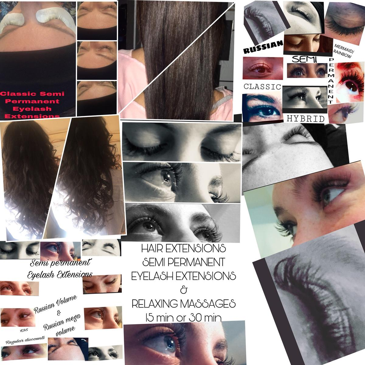 eae2302ee78 HAIR EXTENSIONS SEMI PERM EYELASH EXTENSIONS in Bolton for £20.00 ...
