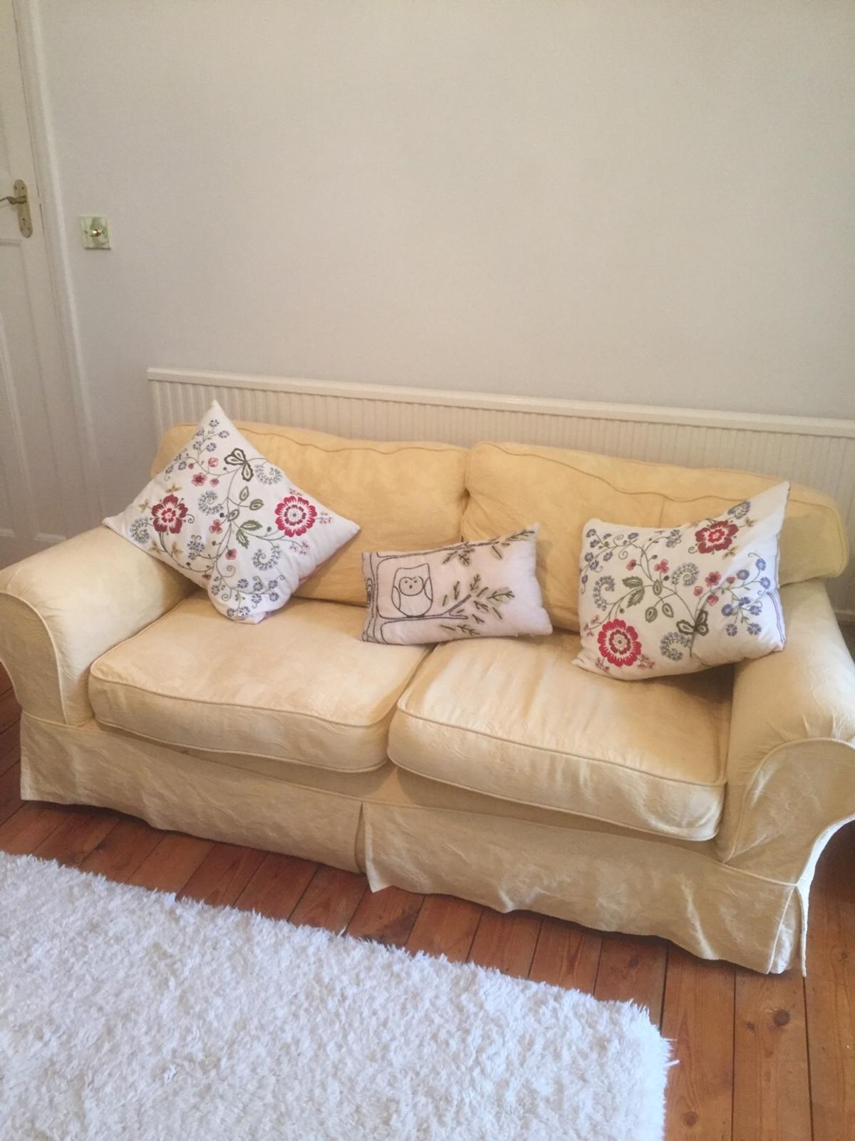 Wondrous Sofa 3 Seat And Chair Made By Kirkdale In Cr5 London For Onthecornerstone Fun Painted Chair Ideas Images Onthecornerstoneorg