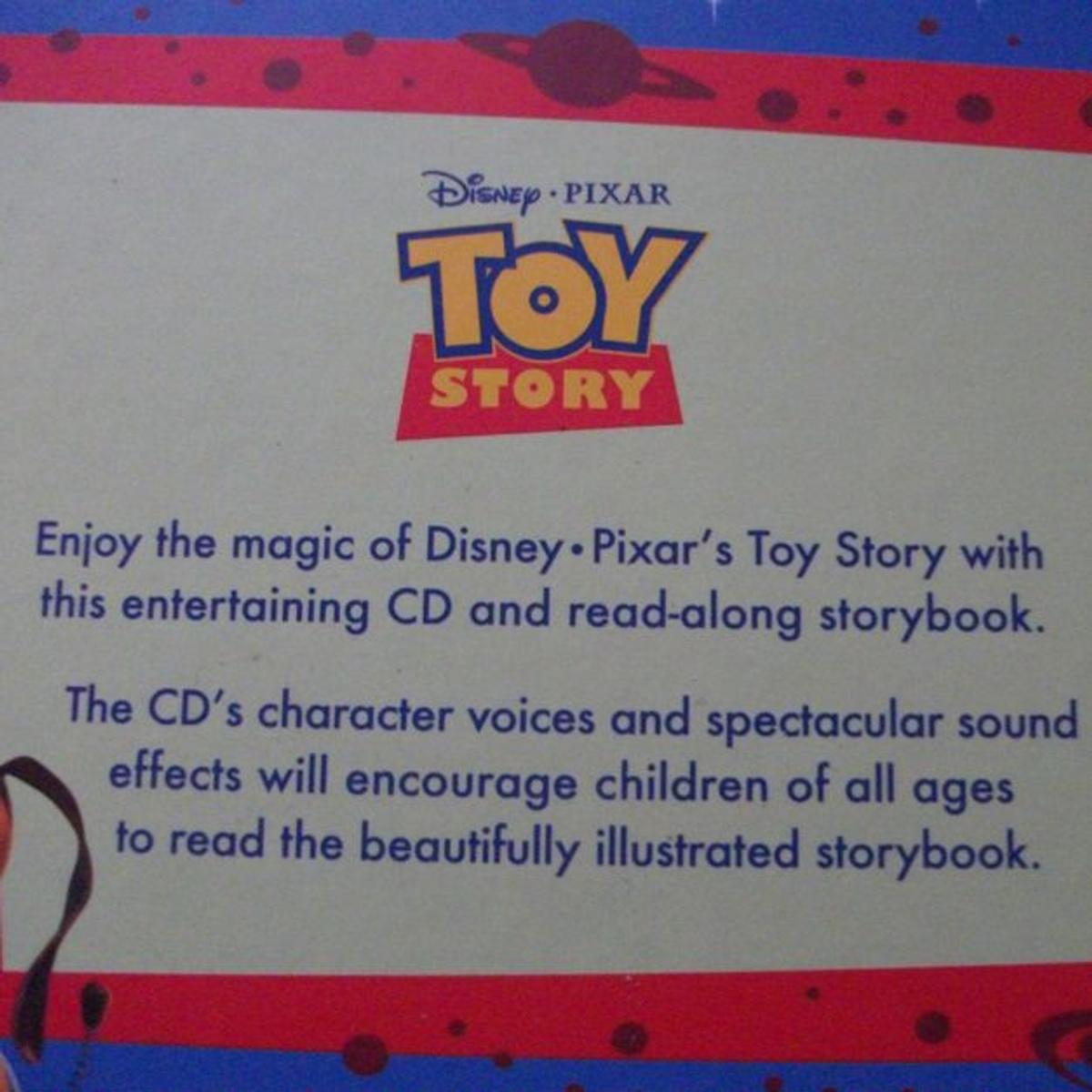 Disney Pixar Toy Story Book & CD Story Book in CW1 Crewe for £3 00