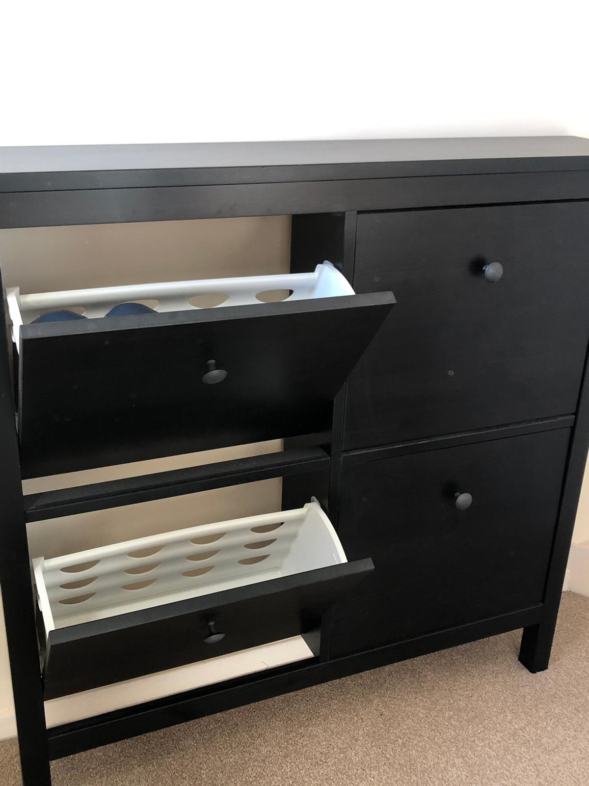 c1cf710109 IKEA HEMNES shoe cabinet with 4 compartments in TW19 Spelthorne for ...