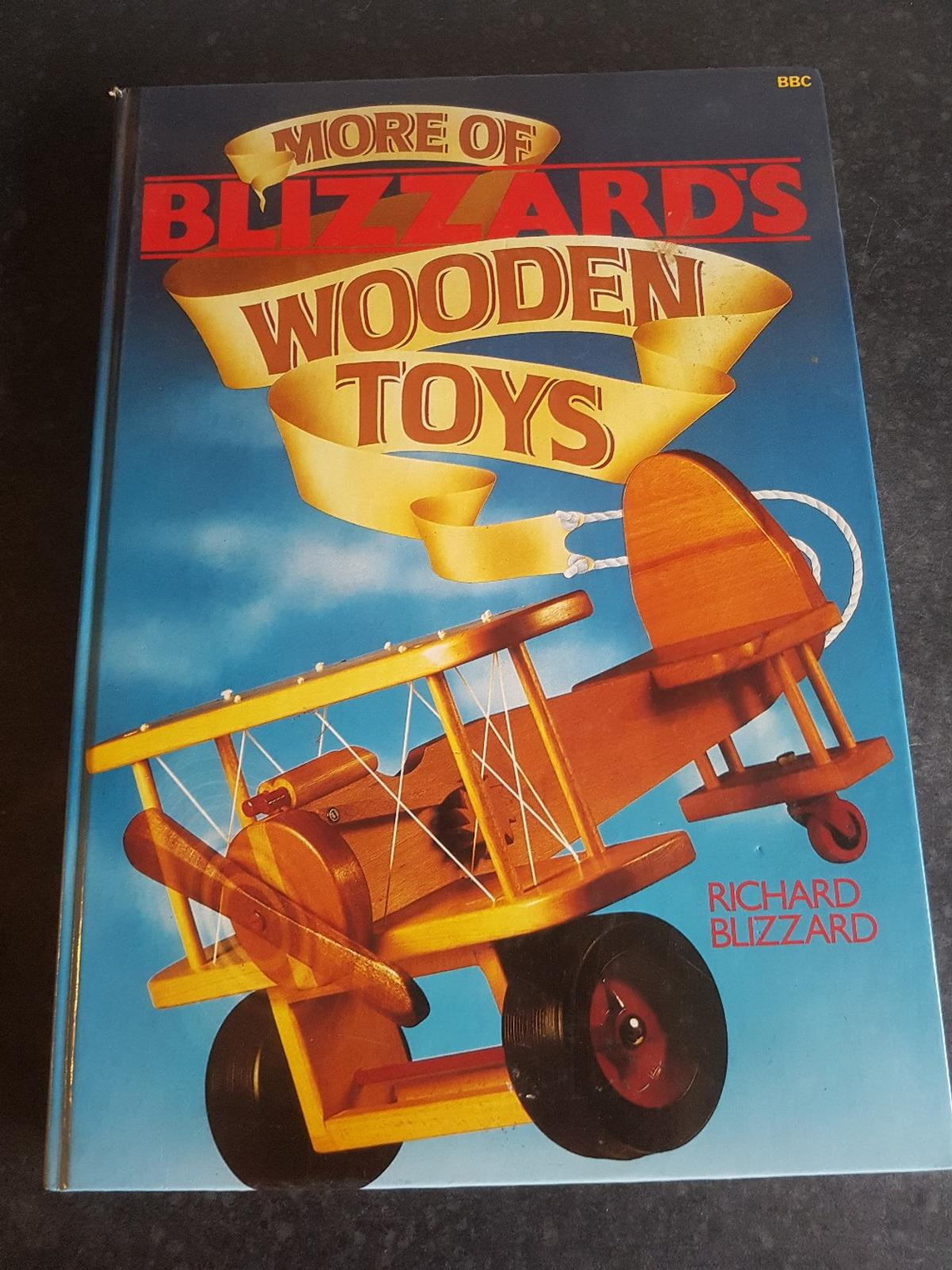 More Of Blizzards Wooden Toys Hard Back Book