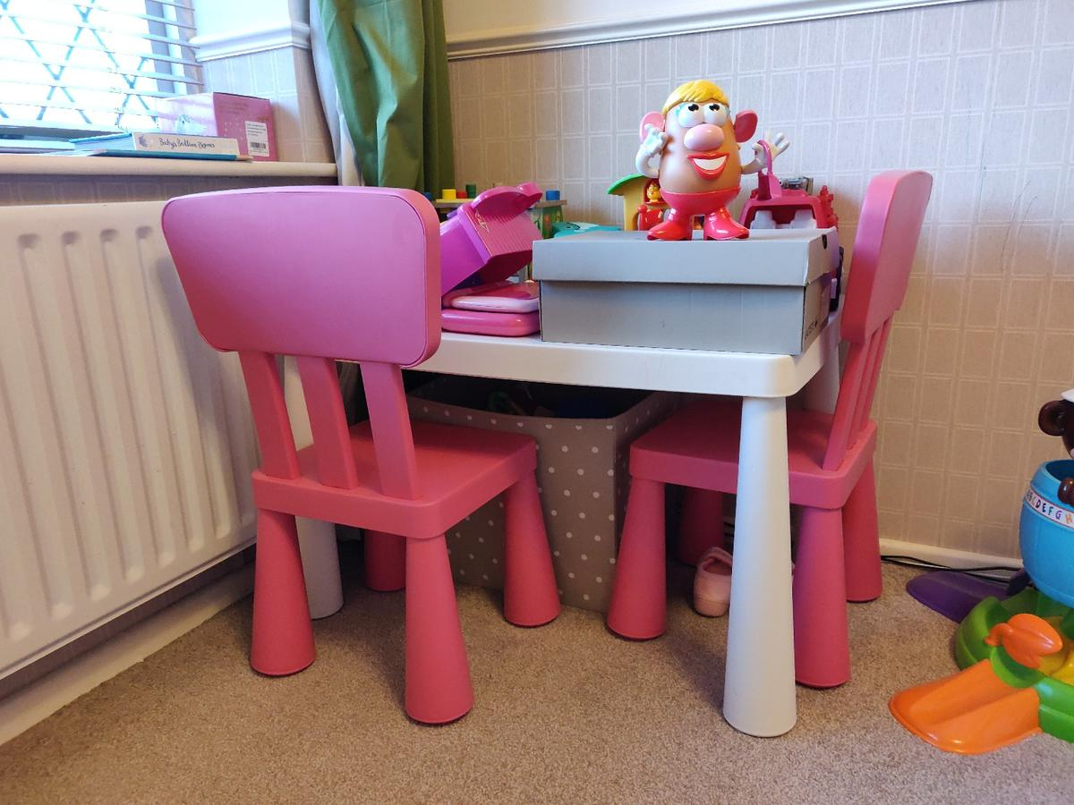 Admirable Ikea Mammut Kids Table And Chairs Unemploymentrelief Wooden Chair Designs For Living Room Unemploymentrelieforg