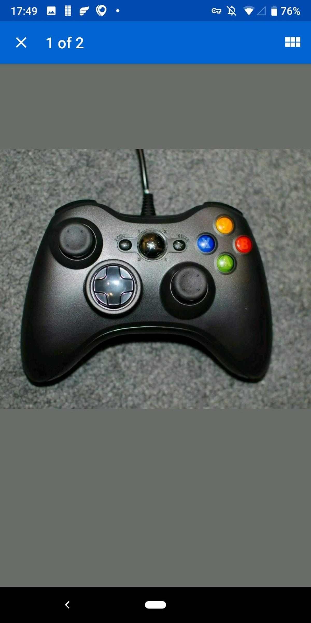 Xbox 360 Style Controller, wired USB