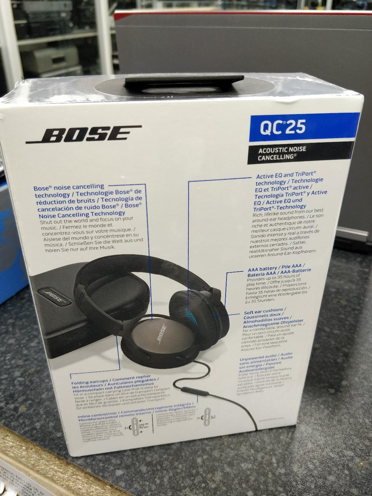 Bose QuietComfort QC25 Headphones