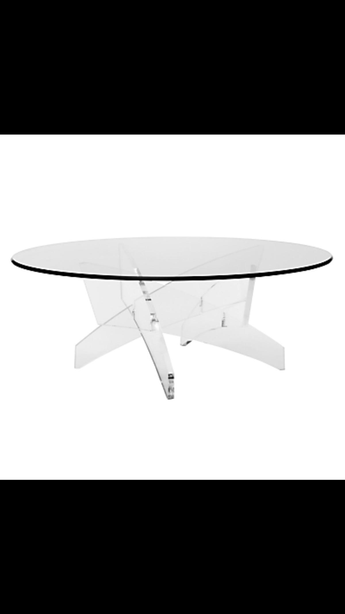 Brand New John Lewis Comet Coffee Tables Glas
