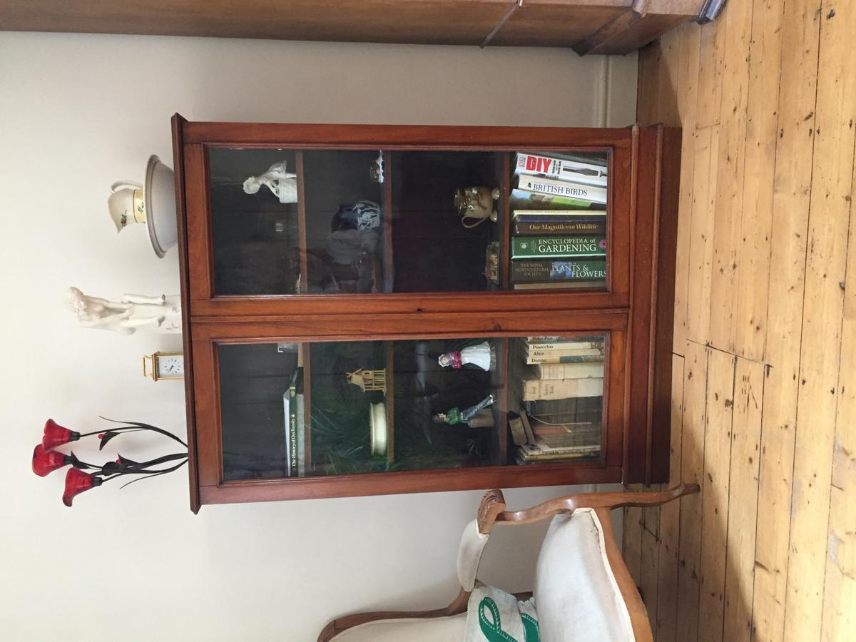 Antique Glass Front Bookcase In Wheathampstead For 150 00