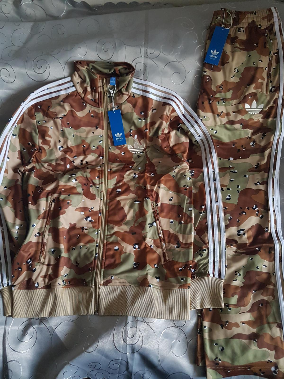 new collection new arrival order Adidas Firebird Camouflage Camo Anzug Jacke in 20354 ...