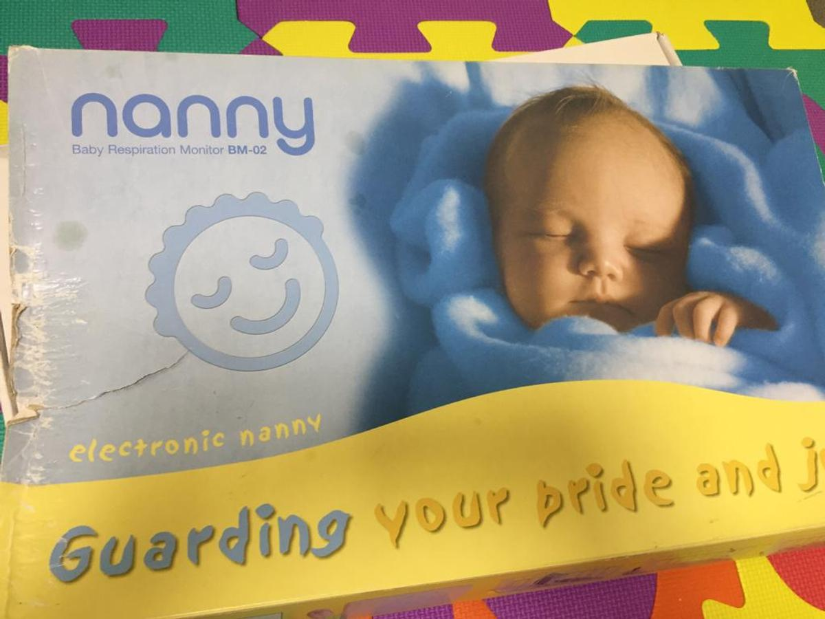 NEW NANNY BABY BREATHING MONITOR MEDICALLY CERTIFIED