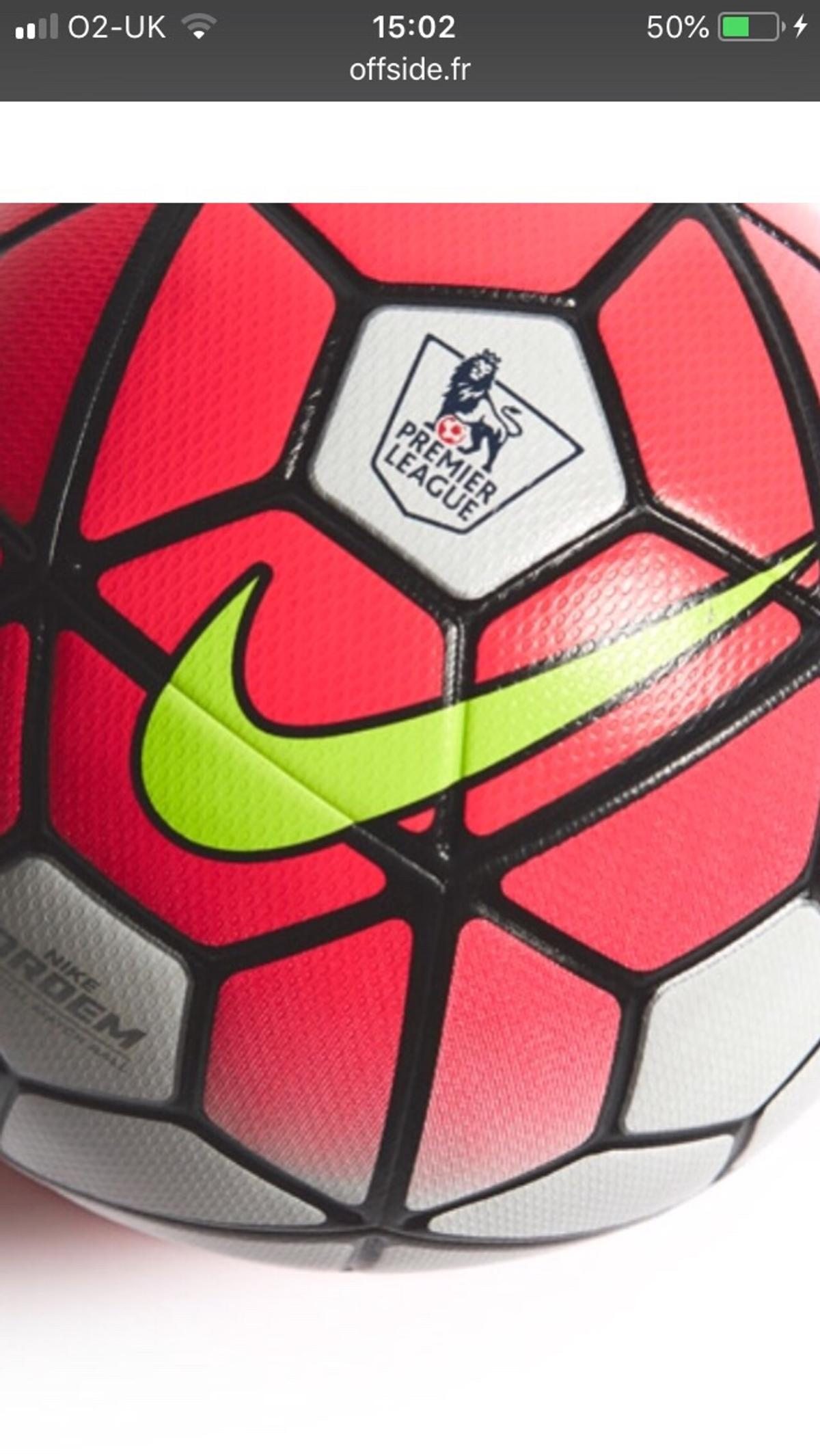 reputable site 84650 82768 Nike Ordem 3 Premier League Matchball in SP10 Valley for £100.00 for ...