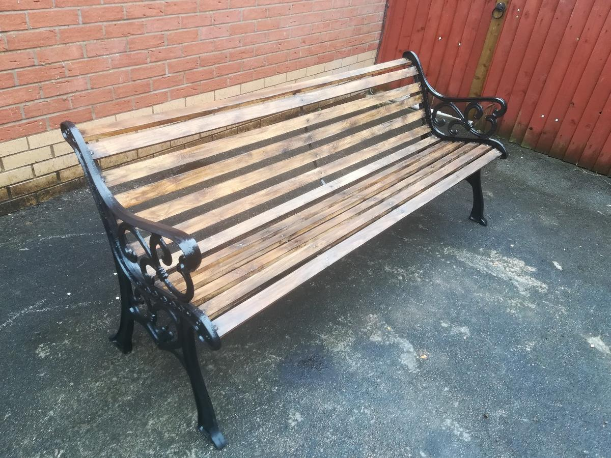 Antique Cast Iron Ended Garden Bench In Ca3 Carlisle For 30000 For