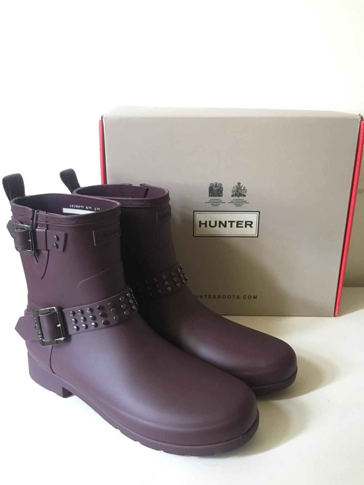 the latest 24c61 28f36 Regenstiefel - HUNTER Chelsea Boots UK7