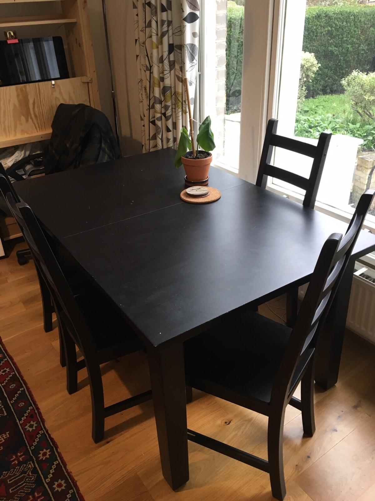 Ikea Stornas Table And 4 X Kaustby Chairs In Se11 Lambeth For 190 00 For Sale Shpock