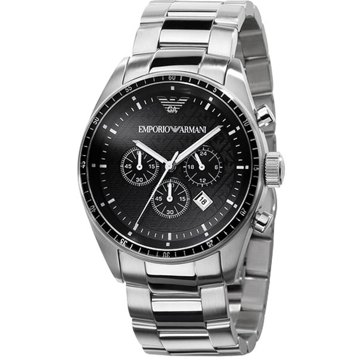 9ab55fcb46 Armani AR0585 - Mens Stainless Steel Watch