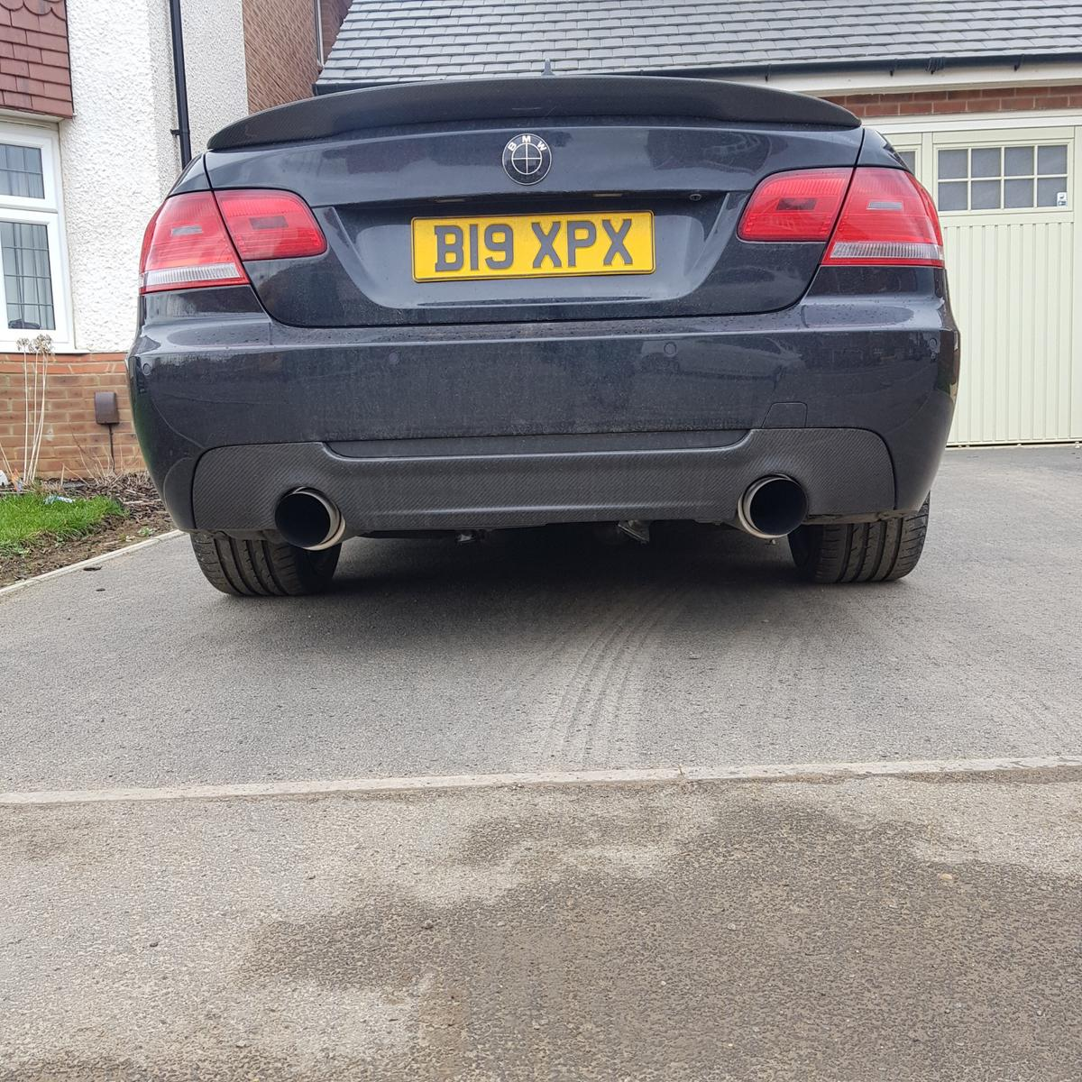 BMW 335i / 335d CUSTOM BACK BOX EXHAUST in LE5 Charnwood for