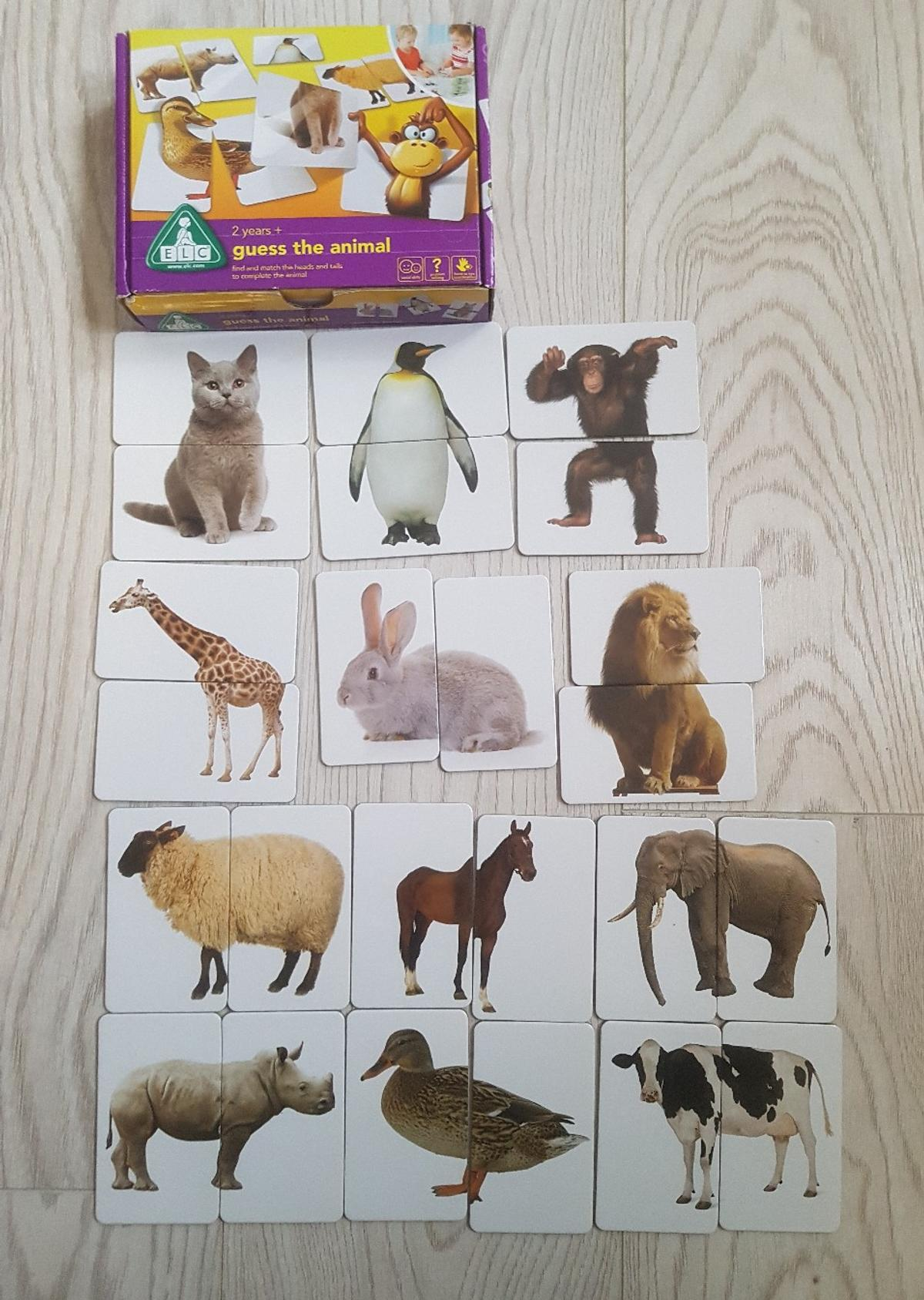 ELC Guess the Animal game in Leicester for £2 00 for sale