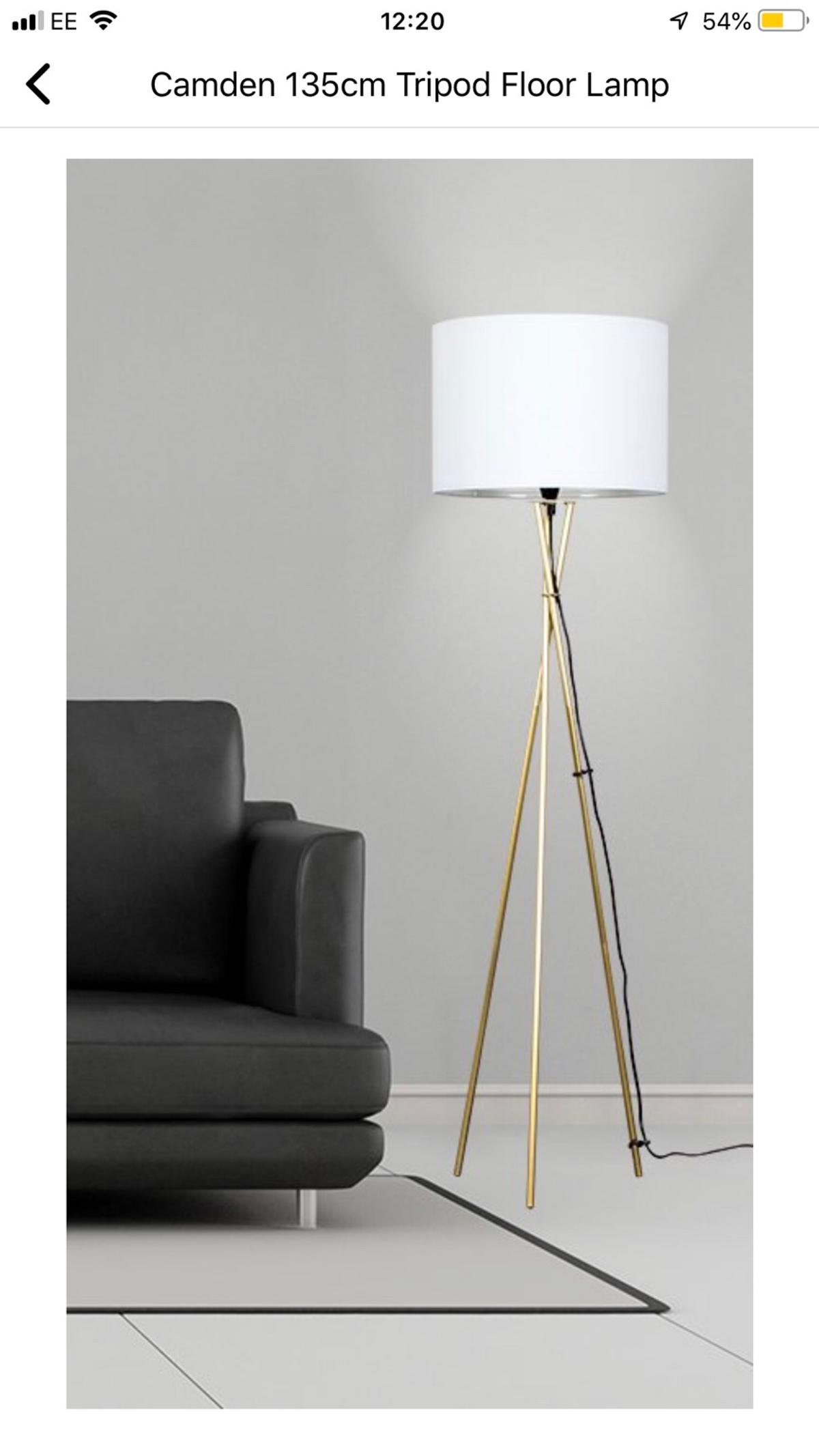 Picture of: Camden Tripod Floor Lamp From Wayfair In N17 Haringey For 25 00 For Sale Shpock