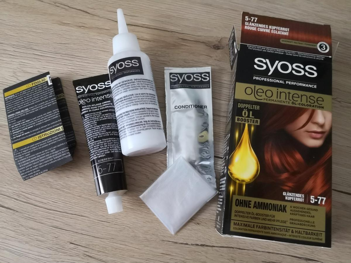 Syoss haarfarbe conditioner