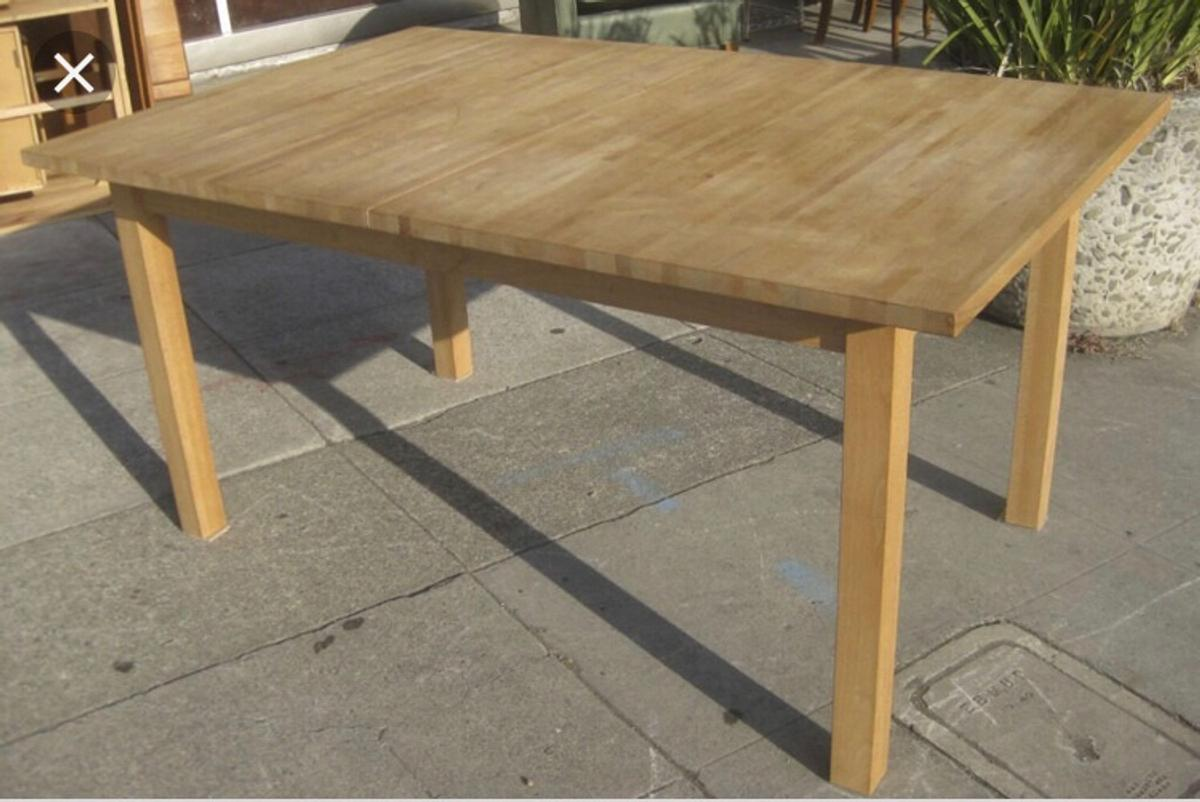 Wooden Extendable Dining Table Ikea In Ct11 Thanet For 50 00 For Sale Shpock