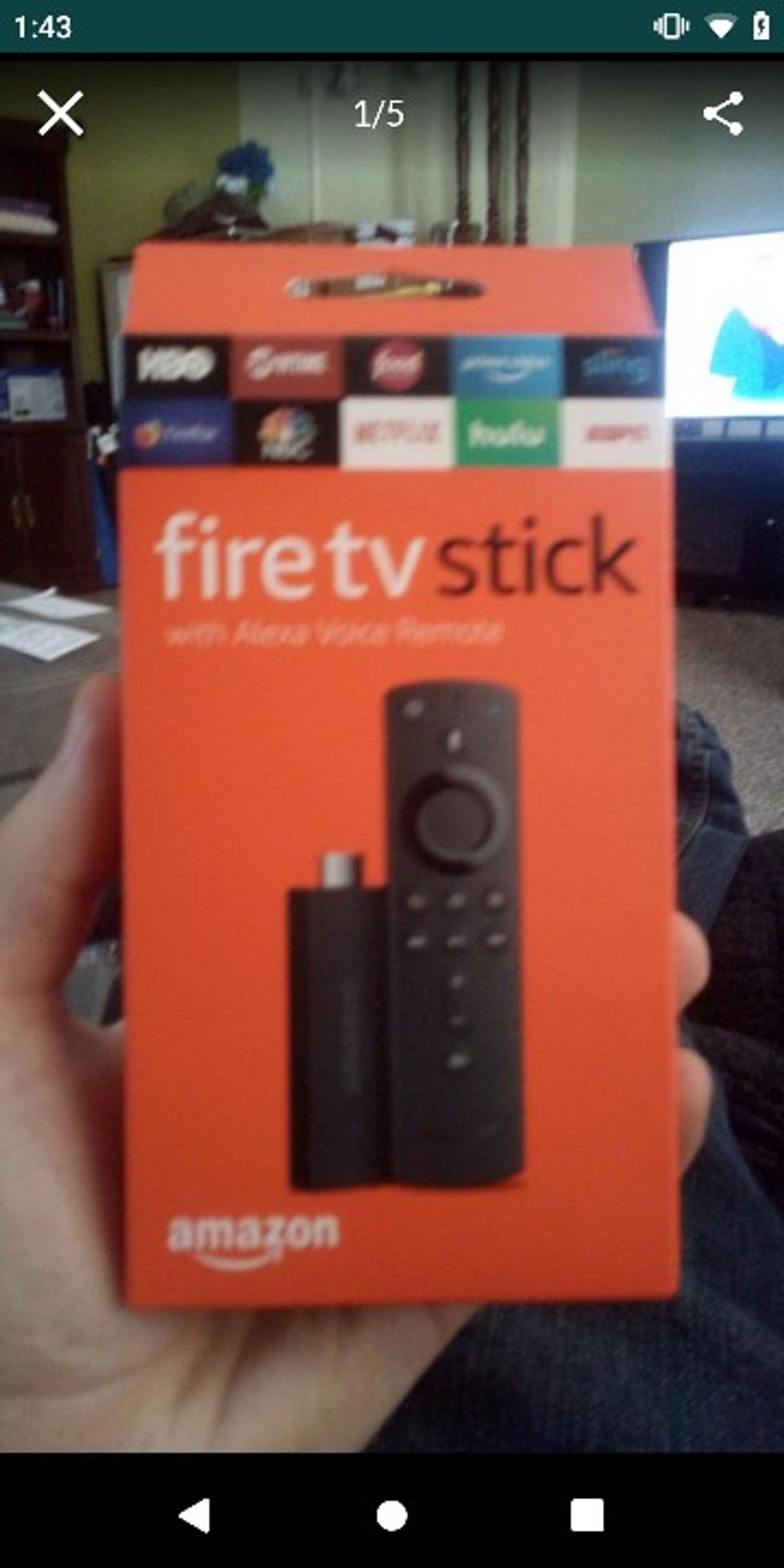 Amazon fire TV stick in for US$53 00 for sale - Shpock