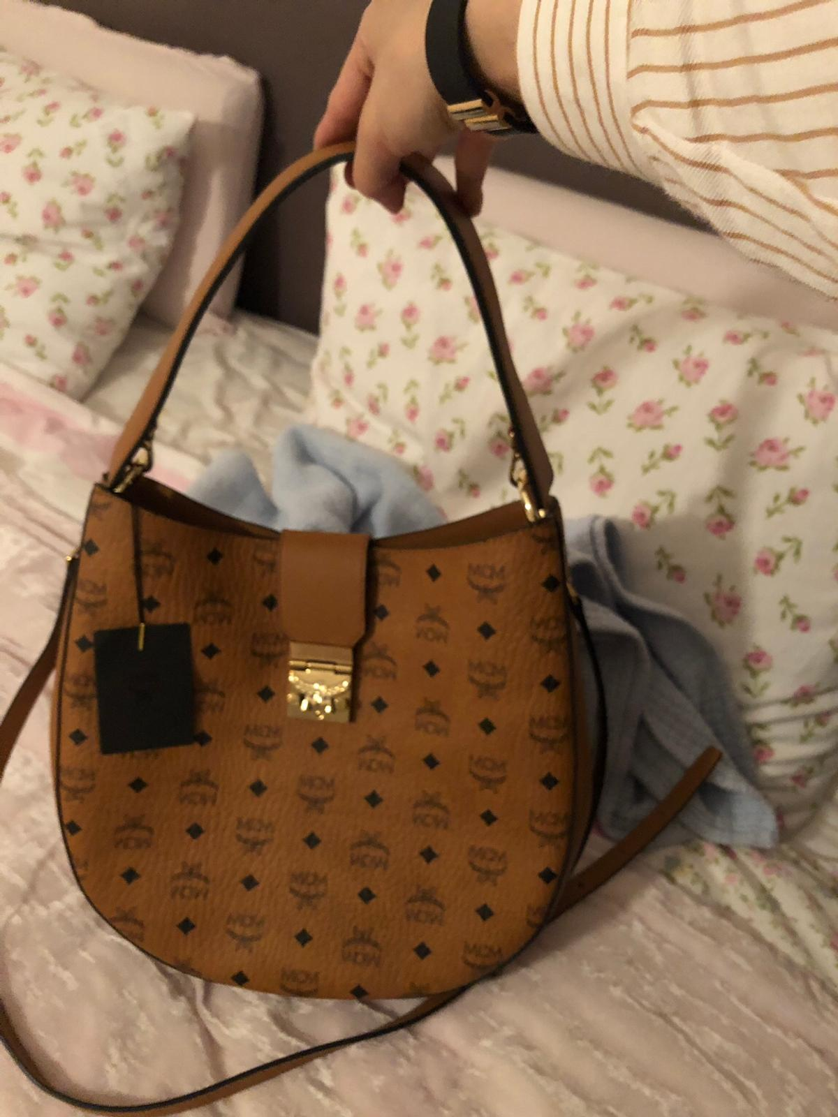 Mcm patricio visetos hobo bag medium cognac in 6850 Dornbirn
