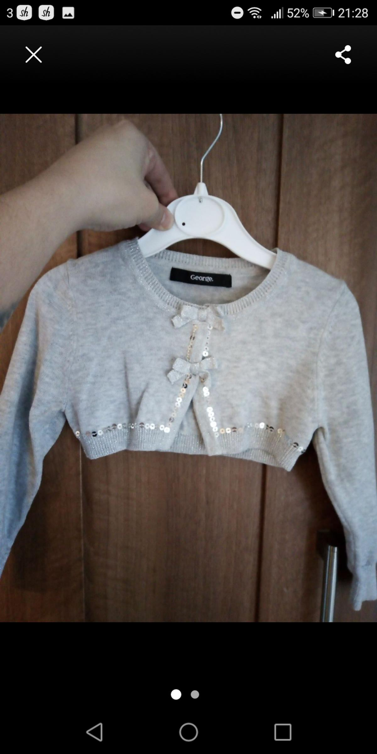 ab16d974d7927 ASDA George toddler bolero Age 2-3 years in WA6 Frodsham for £1.00 ...