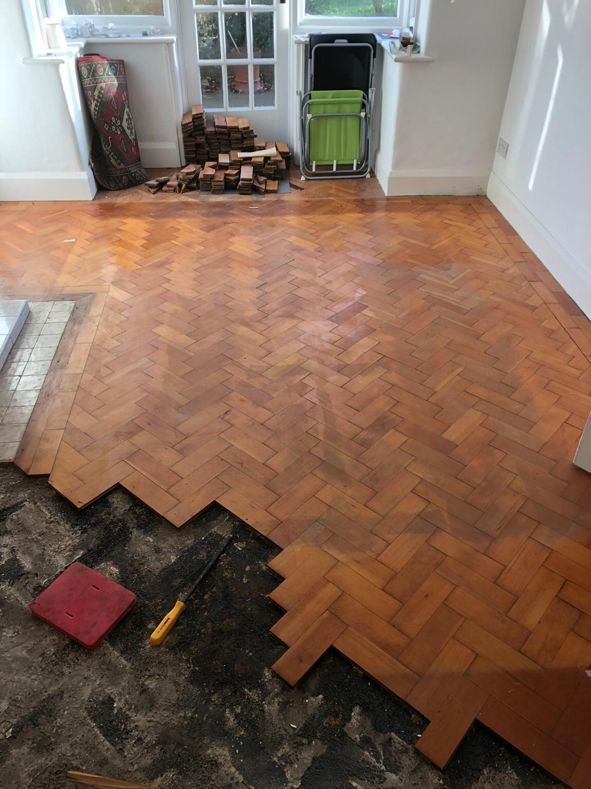 Parquet Flooring Reclaimed In L18 Liverpool Fur 250 00 Zum