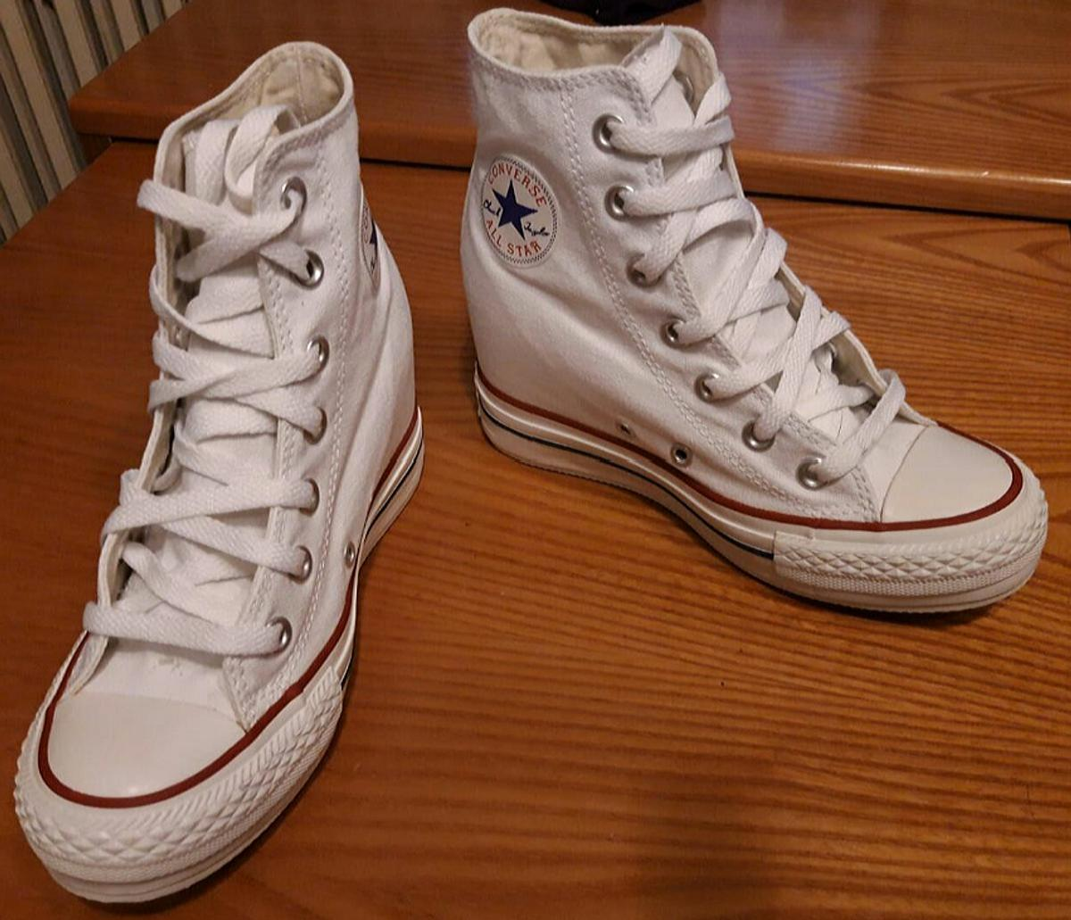 converse all star con tacco