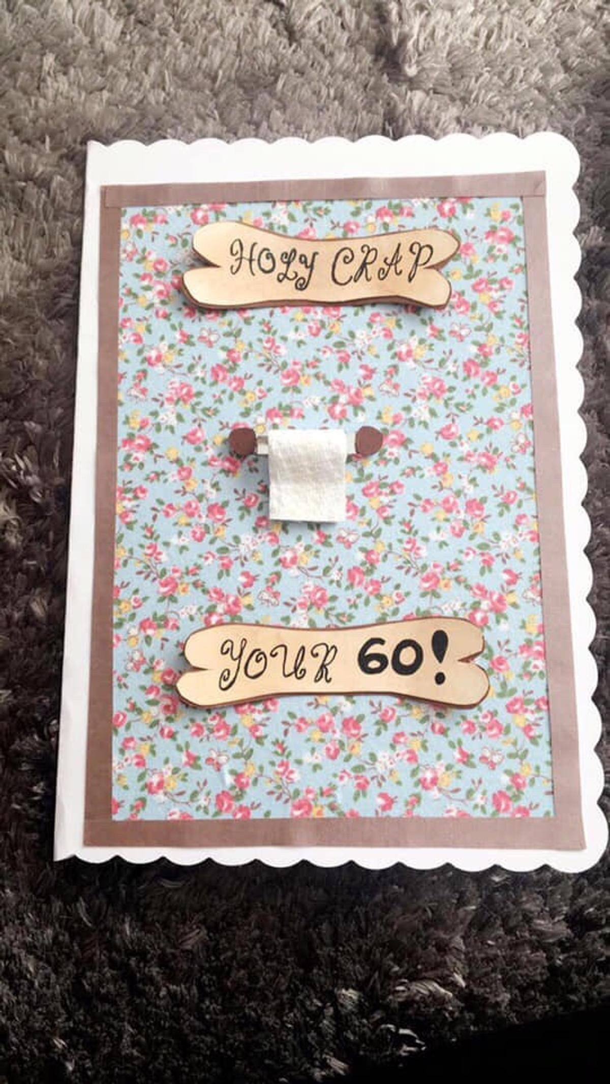 Astonishing Handmade 60Th Birthday Card In Doncaster For 2 00 For Sale Shpock Personalised Birthday Cards Rectzonderlifede