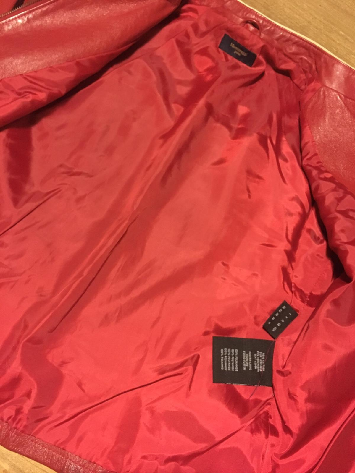 sale retailer 2d044 ef8ae Giacca di pelle rossa in 50121 Firenze for €50.00 for sale ...