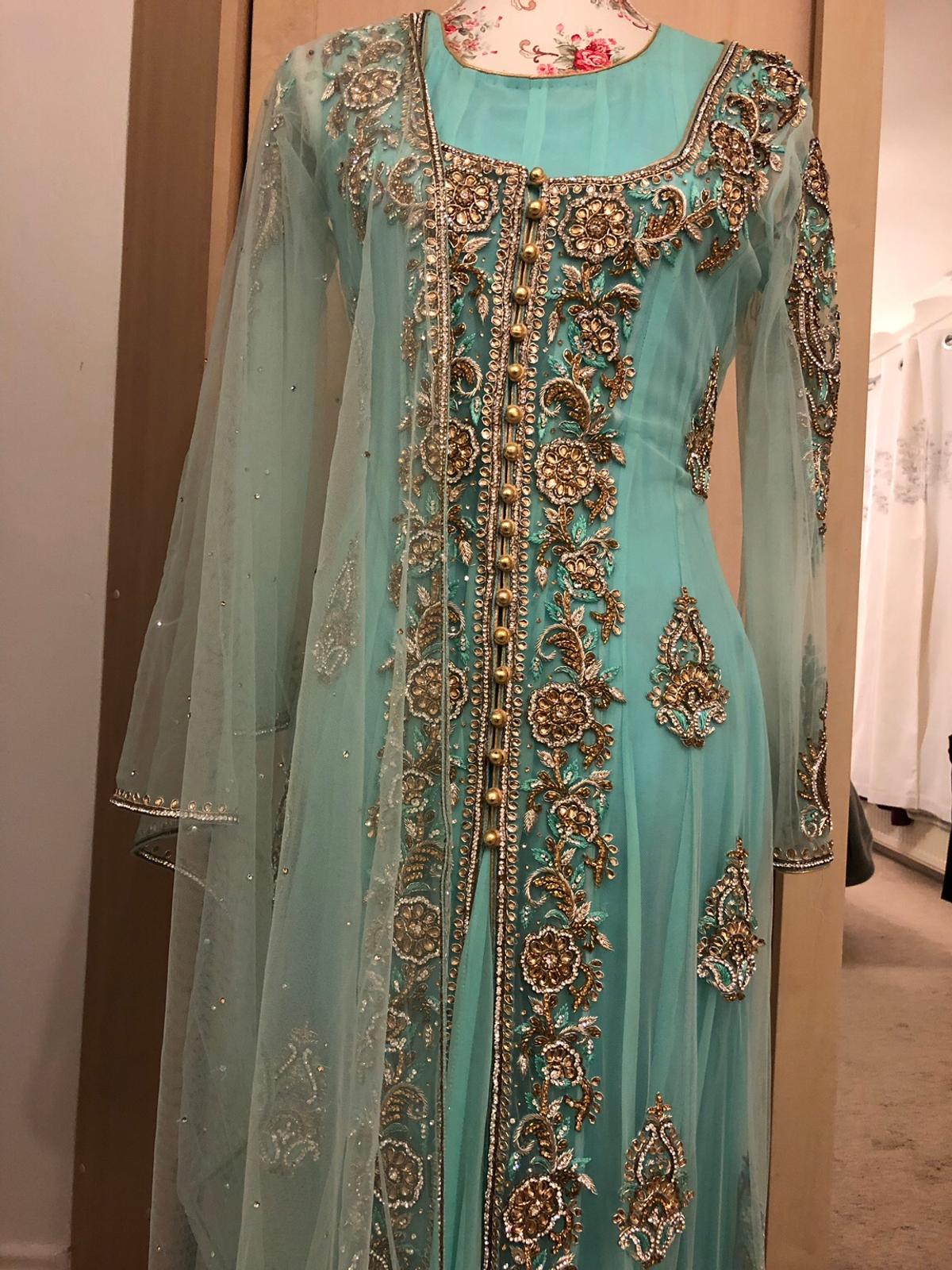 Pakistan Indian Wedding Party Dress In Ts18 Tees For 110 00 For