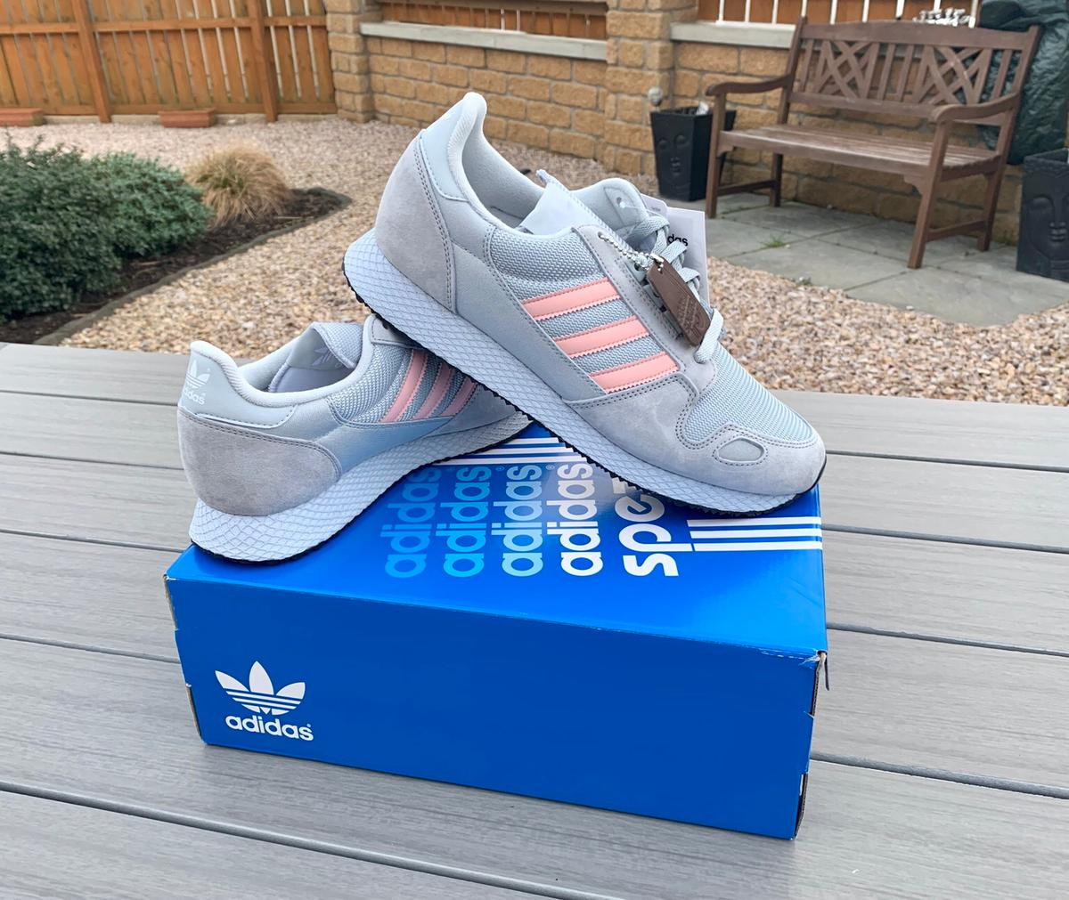 outlet store 91a85 f33ab Adidas ZX 452 SPZL Trainers UK10 BNWT