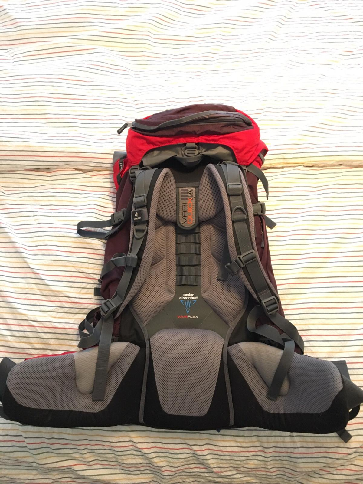 new images of new design fashion styles Deuter Aircontact 50+10 SL Damen in 08393 Meerane for ...