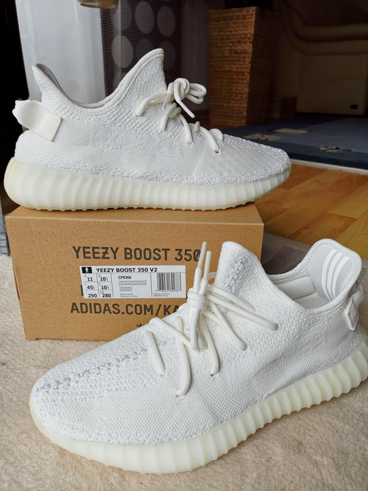 Adidas Yeezy Boost 350 V2 Triple White Weiss